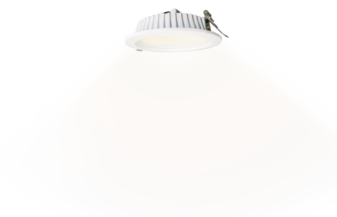 White light downlight