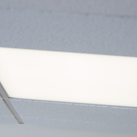 lp series troffer in ceiling
